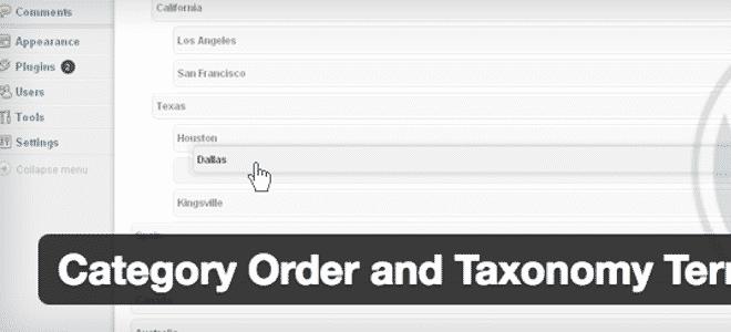 WordPressのカテゴリーの並べ替えができるプラグイン「Category Order and Taxonomy Terms Order」の使い方